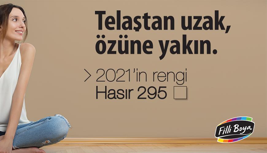2021'in rengi Hasır 295